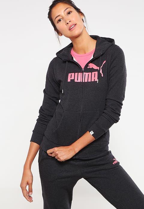 Puma Tracksuit top - dark gray heather Women Jumpers & Sweatshirts,sale puma,premier fashion designer,Puma Store Of Uk - Puma Online With Clearance Price