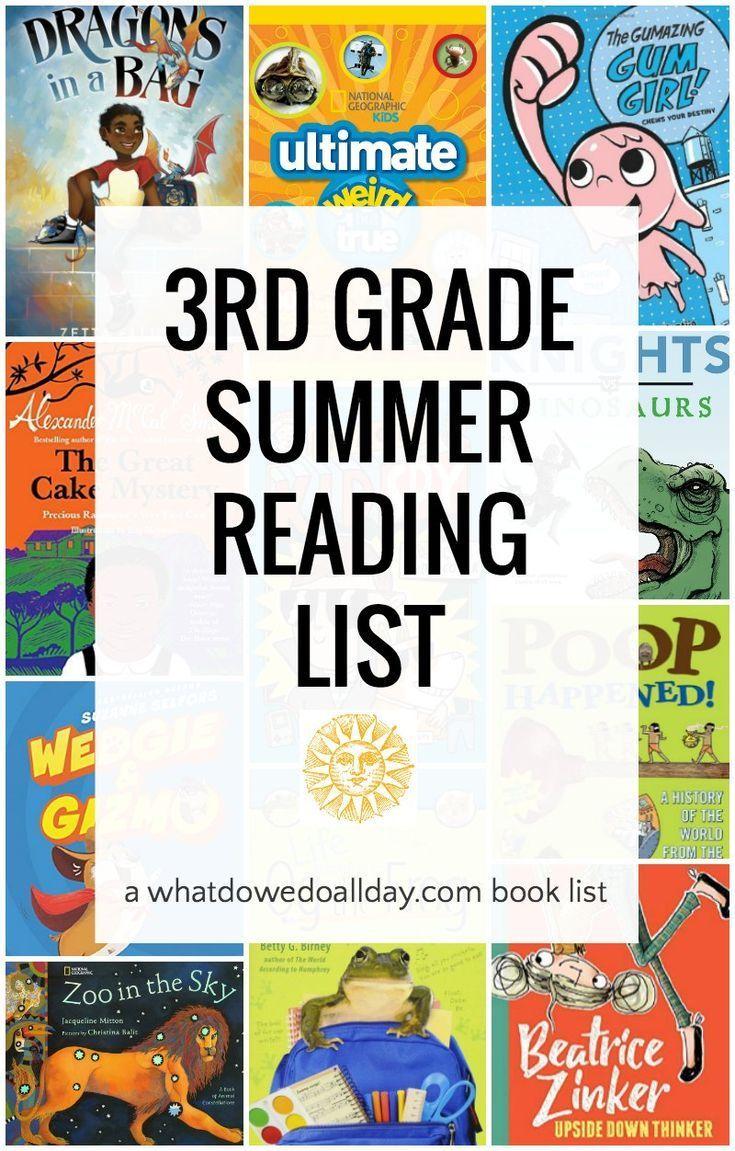 3rd grade summer reading list ages 79 kids reading