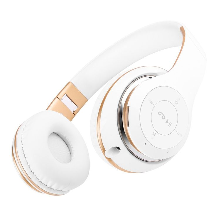 Enjoy wireless audio with these Sound Intone Bluetooth headphones. The rechargeable battery charges fast (less than 2.5 hours) and lets you listen for up to 8 hours, and these headphones also have a b