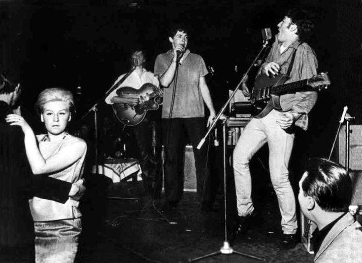 April, 1961. The Top Ten Club, 136 Reeperbahn, Hamburg, Germany. Photo by Gerd Mingram.