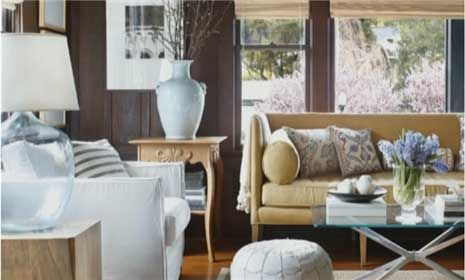 Watch How to Arrange a Living Room in the Better Homes and Gardens Video: Modern Furniture, Ceilings Beams, Decor Ideas, Living Rooms, Expo Beams, Dark Wood, Small Home, Small Spaces, Dark Wall