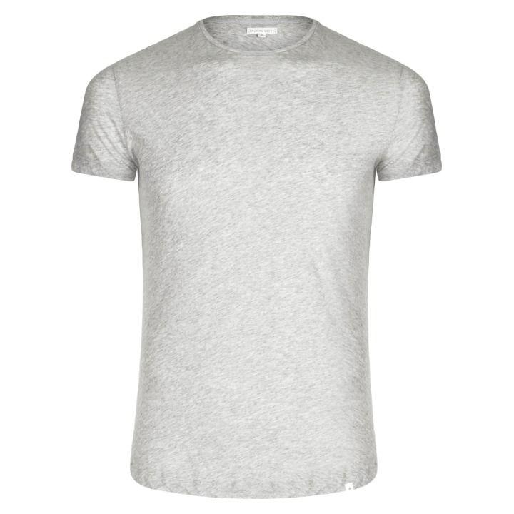 OB T - The Round Neck T-Shirt - Mid-Grey Melange