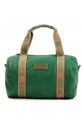 Sac polochon david jones Vert