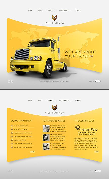 An example of a template developed in Flash. #webdesign #webdev #website #contactus