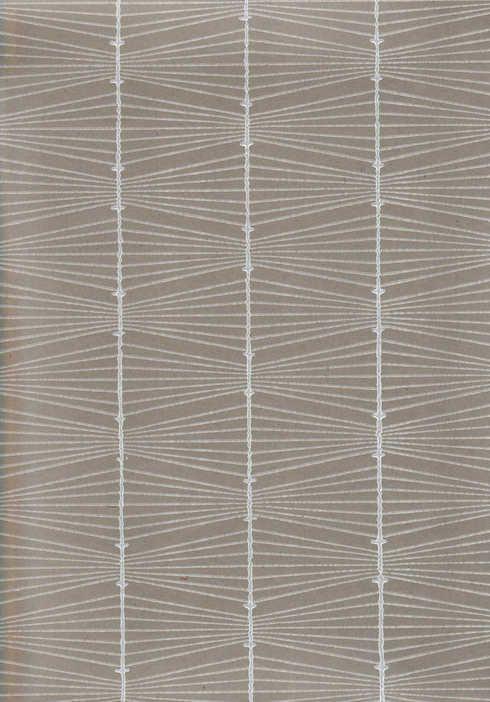 Jukka Pellinen: Bownet wallpaper by Pihlgren & Ritola Finland 1950's