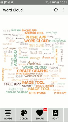 how to create a word cloud