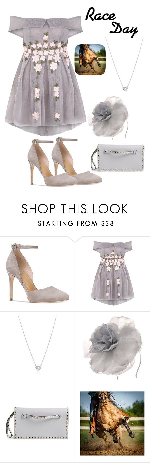 """""""Race Day"""" by laurenc16 ❤ liked on Polyvore featuring Michael Kors, Tiffany & Co., Johnny Loves Rosie and Valentino"""