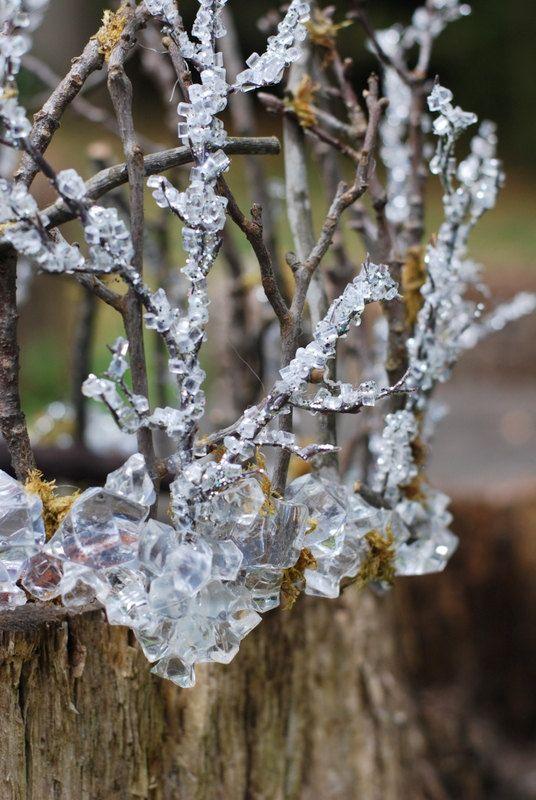 Winter Wedding Crown for Men/ Mens Winter Ice Crown/ Mens