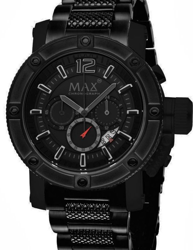 Amazing MAX Dutch Design watch model 5-Max743 diameter 47mm  savings price from €320,- for €189,-