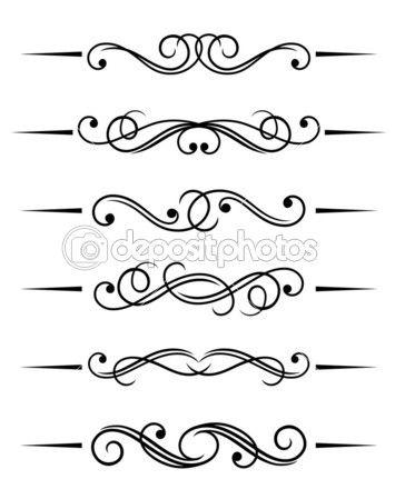Add lines to any flourish to make a pretty border