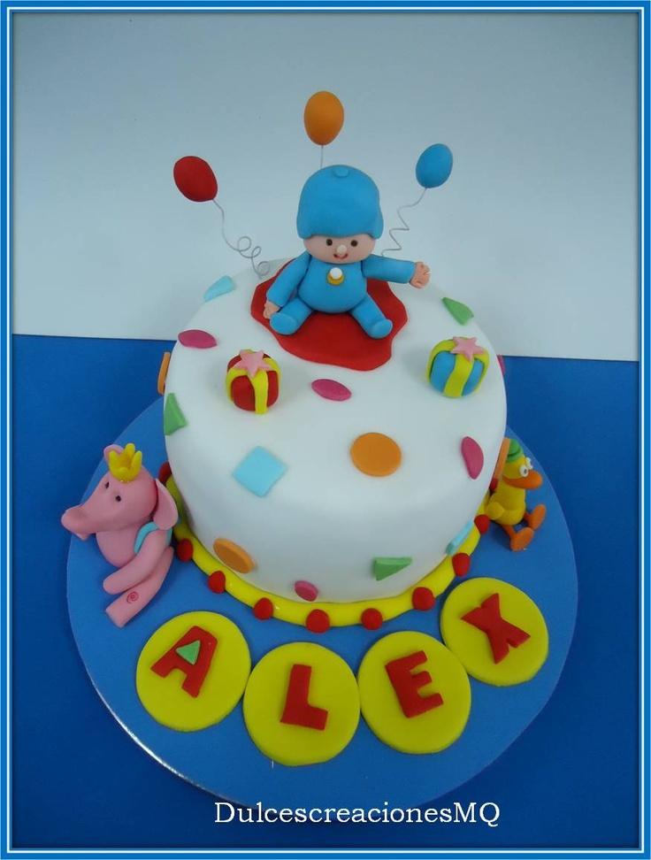 Mejores 92 im genes de tartas para ni os en pinterest - Bizcocho cumpleanos para ninos ...