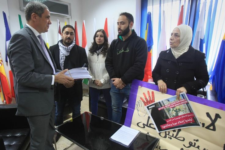 Charlotte Silver Rights and Accountability 11 February 2016 Members of the Sub Laban family meet with an official at the EU mission in occupied East Jerusalem on 3 December 2015, to demand protecti... http://winstonclose.me/2016/02/12/jerusalem-family-gets-temporary-reprieve-from-eviction-written-by-charlotte-silver/