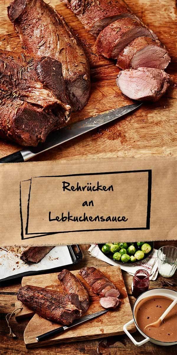 Das Tolle an Wildfleisch ist, dass es vielfältig und außergewöhnlich kombinierbar ist. Bei unserem Rezept wird zum Rehrücken eine unglaublich leckere Lebkuchensauce serviert. Probiere es aus und überzeuge dich selbst vom einzigartigen Geschmack!