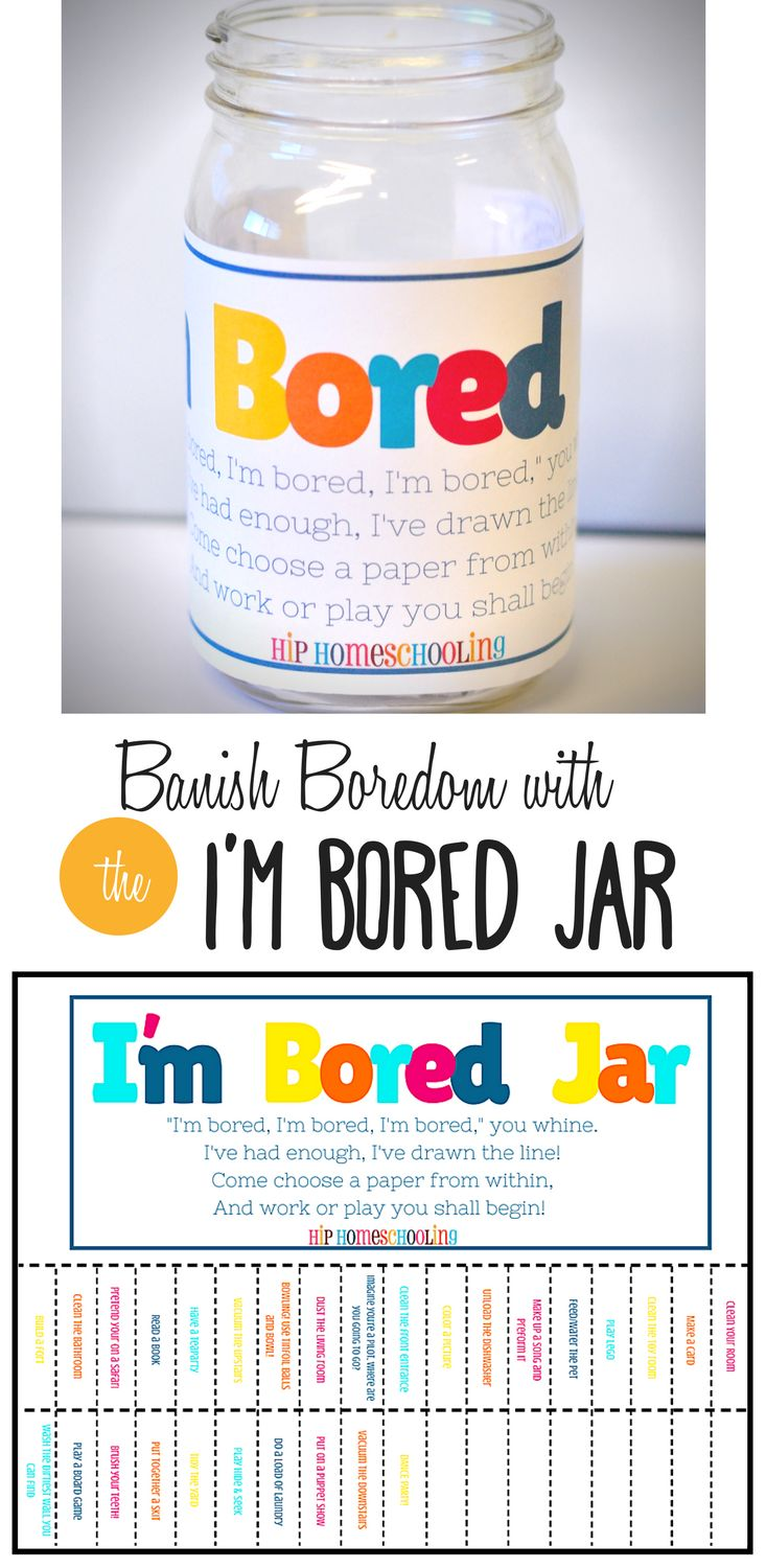 """""""I'm Bored"""", we've all heard it before, I was sick of it so I stopped everything I was doing, sat down and designed THIS. My kids will never be bored again!"""