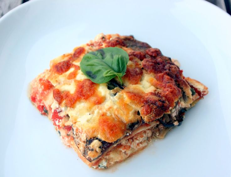 Lasagne mit ofengeröstetem Gemüse
