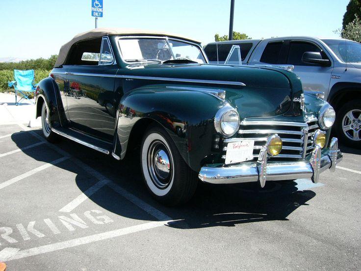 1941 Chrysler New Yorker convertible - Top Up by RoadTripDog.deviantart.com on @DeviantArt