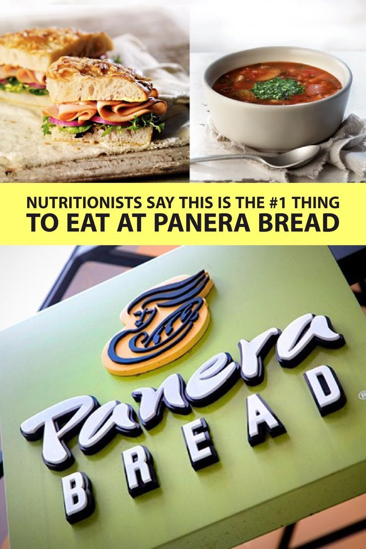 After reviewing the Panera Bread menu, these nutritionists have the scoop on the healthy fast food items you should be ordering. #panerabread #nutrition #healthyeating #everydayhealth
