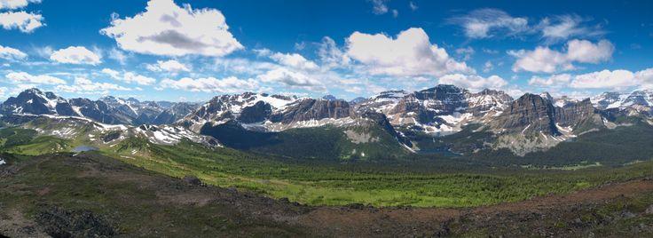 Hiking Healy Pass, Banff