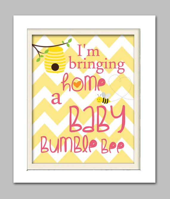 Bumble bee baby shower, Bumble bee baby shower sign, Choose your colors on Etsy, $15.00