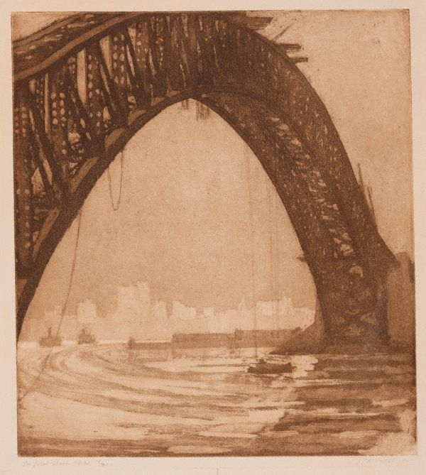 Jessie Traill The Great Arch 1932