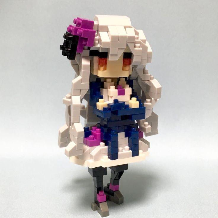 #nanoblock #nanoblocks #bricks #blocks #ナノブロック#ゴシックは魔法乙女#ロザリー#cave #ケイブ ゴシックは魔法乙女 ロザリー