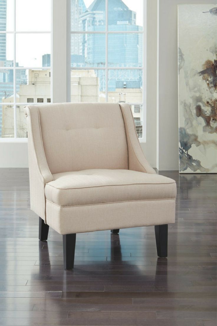 Clarinda Contemporary Cream Accent Chair   Dimension   L 31 x W 28 x H 34. 201 best Inside the Home images on Pinterest   Living room