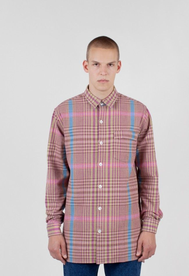 Our Legacy Shirt Coat 1972 Tartan Check – Voo Store