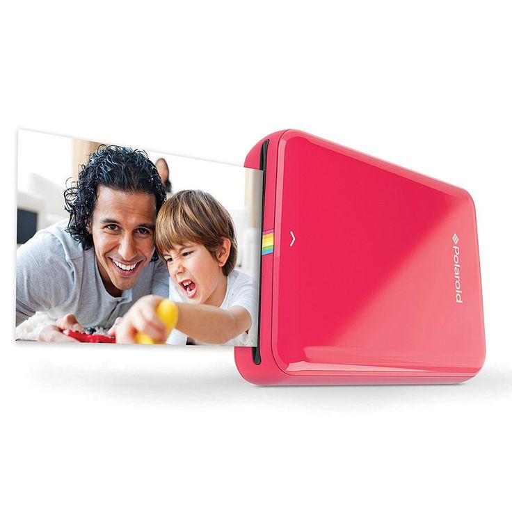 Polaroid ZIP Mobile Printer, Red