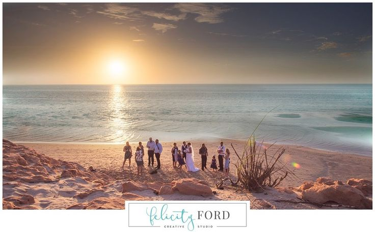 Coral Bay Wedding by Felicity Ford, Tom Price Photographer