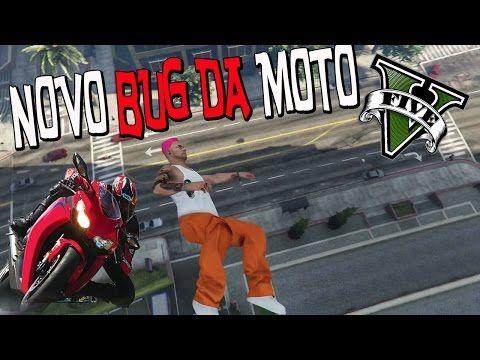 NOVO BUG - COMO SER ARREMESSADO POR UMA MOTO NO GTA V - MERCENA GLITCH