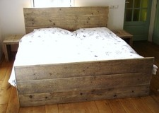 Steigerhouten bed: Steigerhouten Beds,  Day Beds
