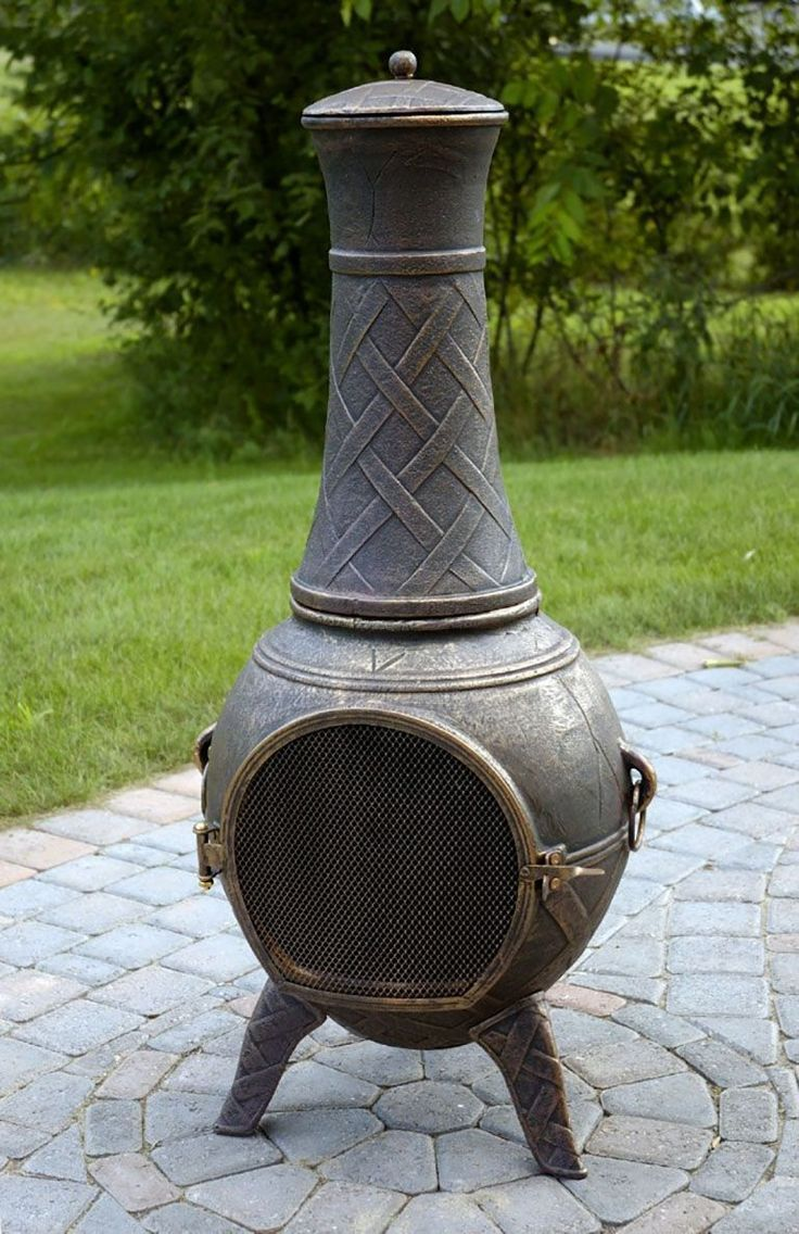 5 Best Cast Aluminum Chimineas Of 2020 The Online Grill Chiminea Chiminea Fire Pit Fire Pit Chimney
