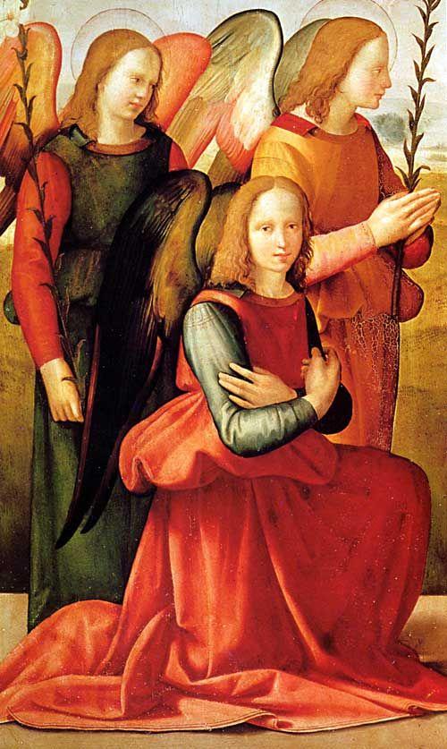 Florentine painter Ridolfo Ghirlandaio (1483-1561).