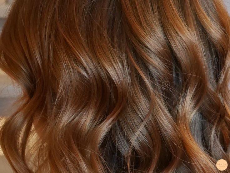 warm brown hair