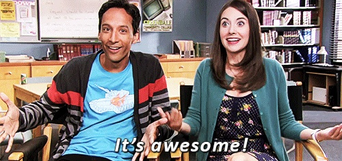 """Community Season 4 review: """"It's awesome!"""" Alison Brie & Danny Pudi"""