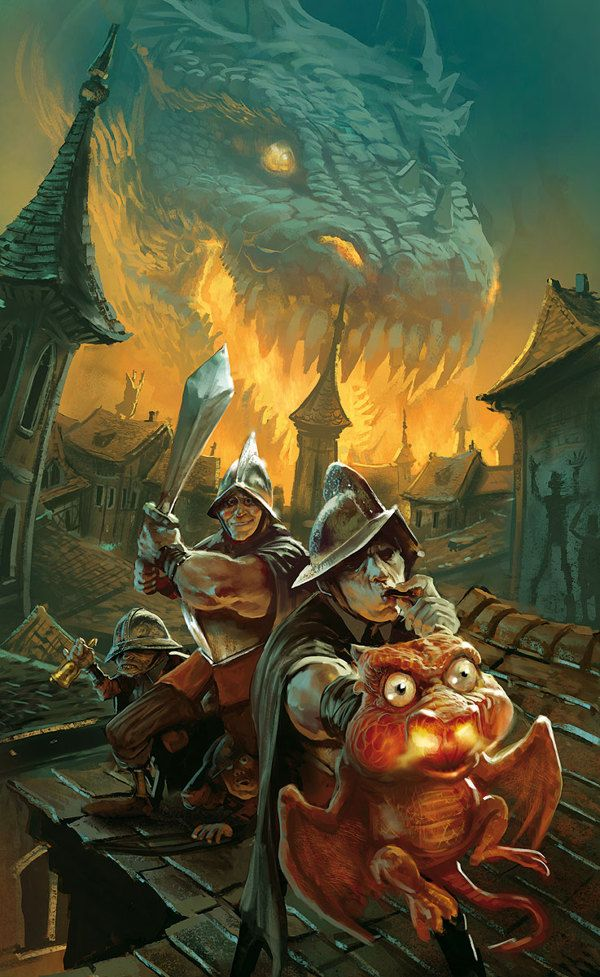 Discworld Covers From France Are Breathtaking