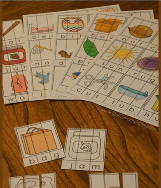 58 mejores imágenes de CVC Words for Early Learners en Pinterest ...