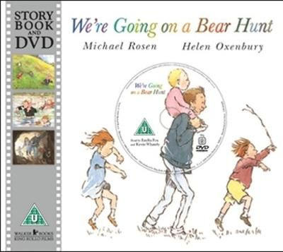 We´re going on a bear hunt. We´re going to catch a big one. What a beautiful day¡ We´re not scared.