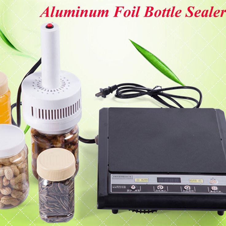 220V Electromagnetic Induction Sealing Machine Cap Sealer Aluminum Foil Bottle Sealing Machine (Seal Size:20-100mm) DL-500 #Affiliate