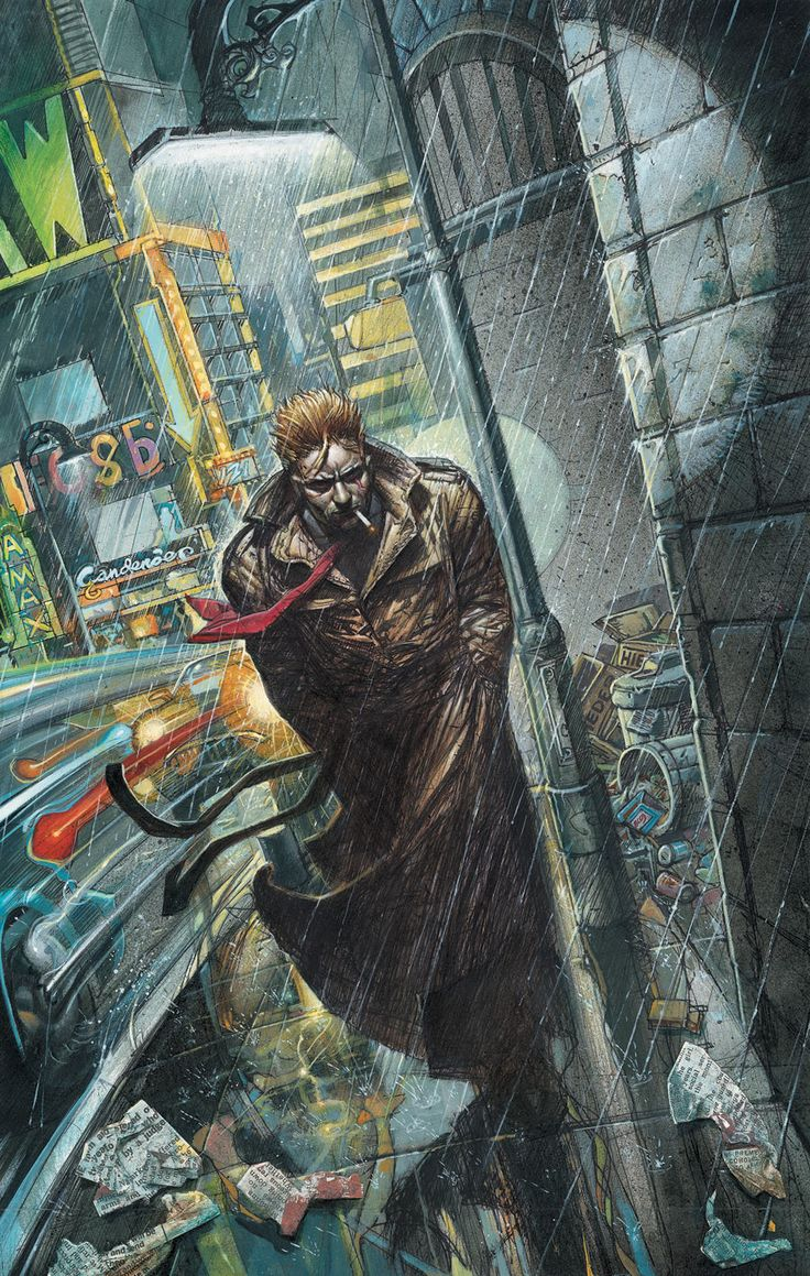 Hellblazer. John Constantine. DC comics.