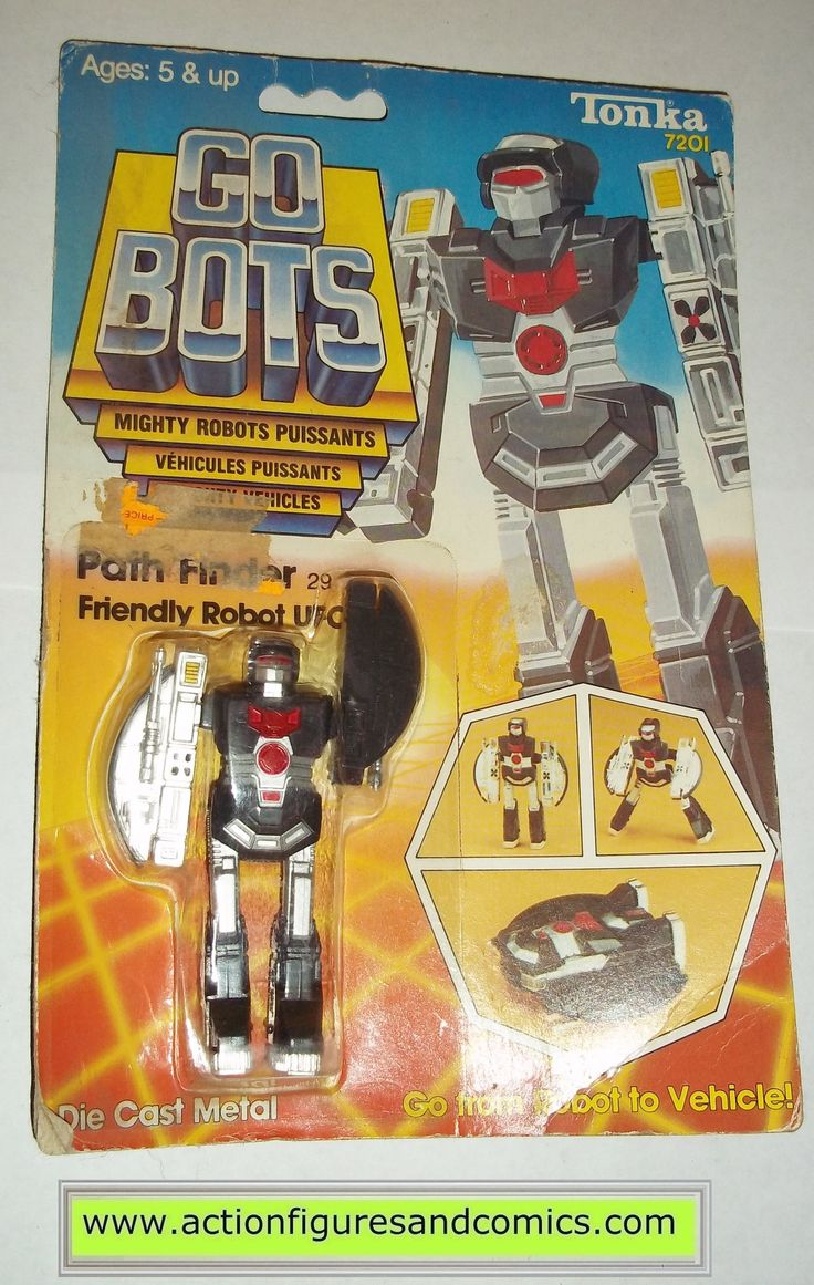 gobots PATH FINDER mr-29 ufo 1984 tonka ban dai toys action figures moc mip mib vintage transformers