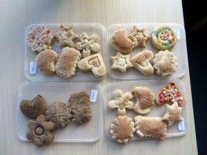 Koekjes voor de bakkerswinkel, kleuteridee.nl , thema bakker voor kleuters
