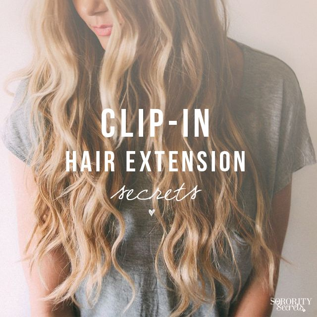 Clip-In Hair Extension Secrets