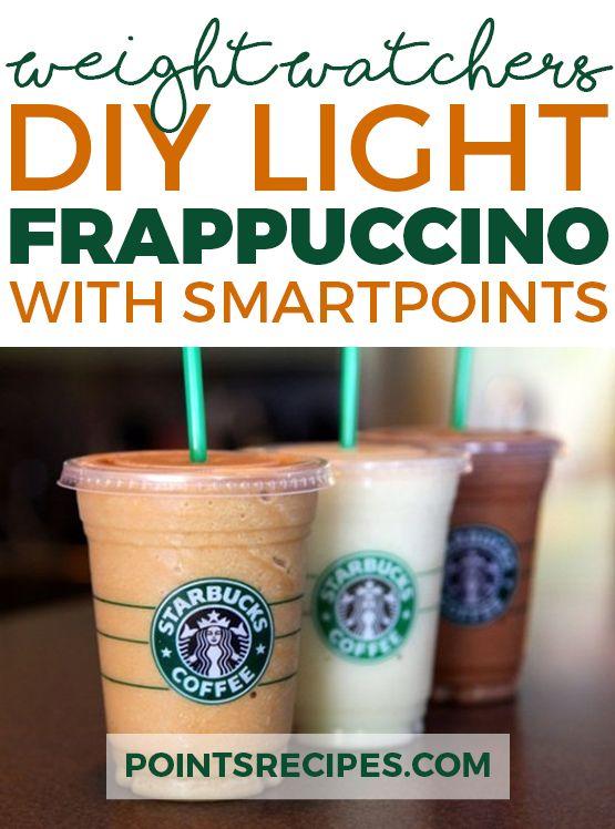 DIY Light Frappuccino Recipe (Weight Watchers SmartPoints)