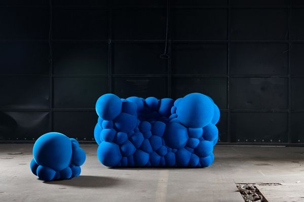 Mutating Furniture Made of Bubbles - My Modern Metropolis