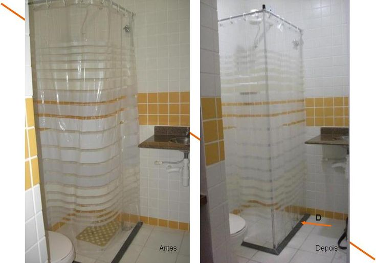 Adeus cortina de banheiro colando no corpo!