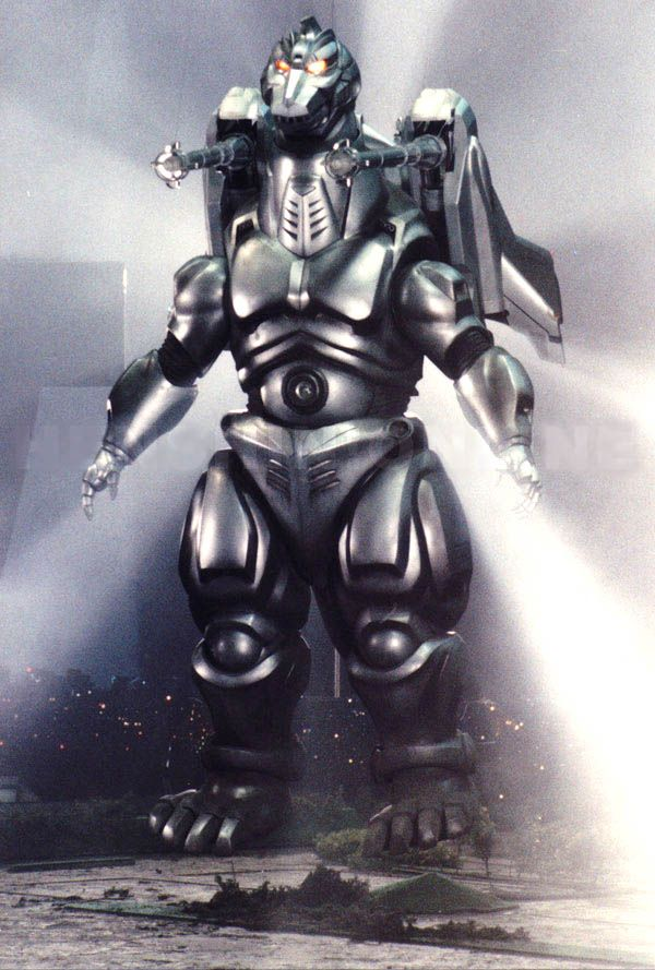Mecha-Godzilla with Garuda (Godzilla vs. Mecha-Godzilla 2, Toho Co., 1993)