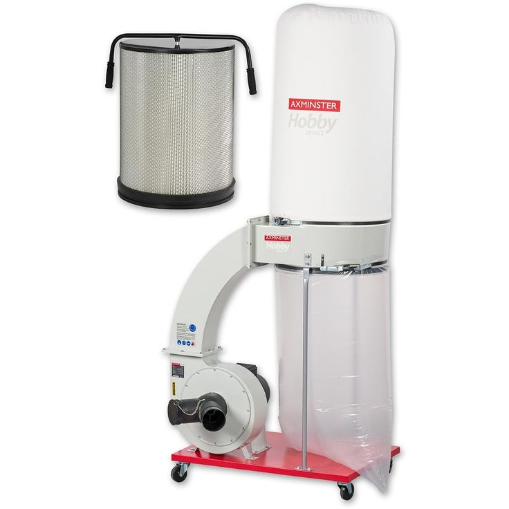 Axminster Hobby Series FM300BC Extractor & Filter Cartridge - PACKAGE DEAL - Chip Extractors - Dust Extractors - Machinery | Axminster Tools & Machinery