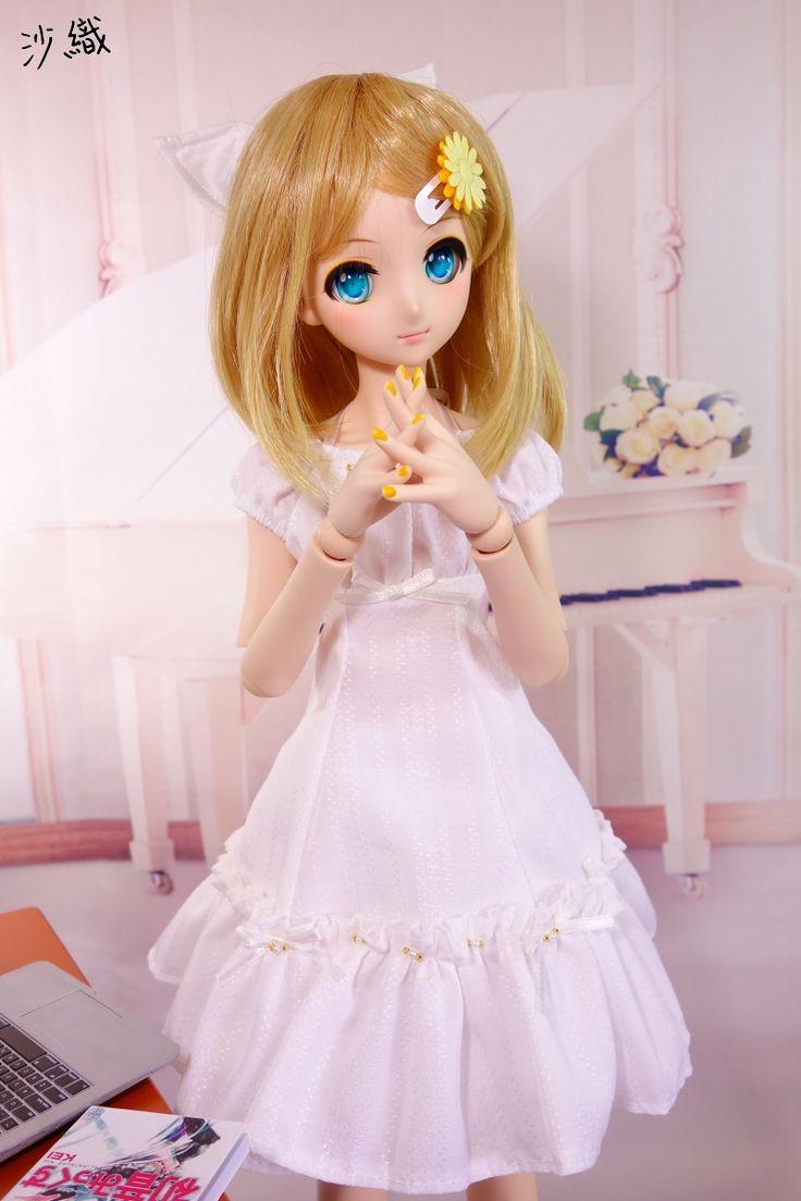 初音dd资讯 新闻 Dollfie Dream Sister鏡音鈴 妖精白洋裝 Miku社