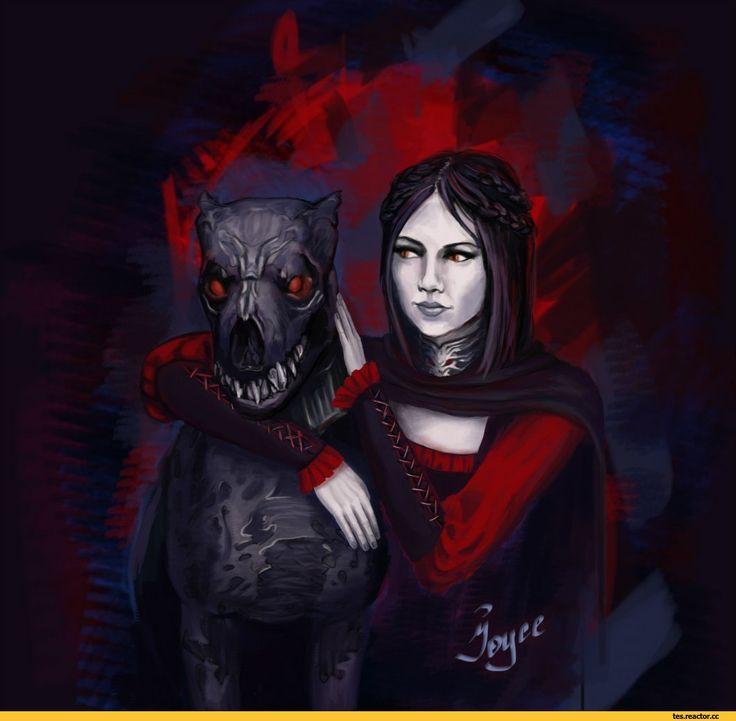 The Elder Scrolls,фэндомы,TES art,Серана,TES Персонажи,Dawnguard,Skyrim